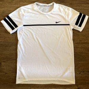 Nike Dri-Fit White Tee